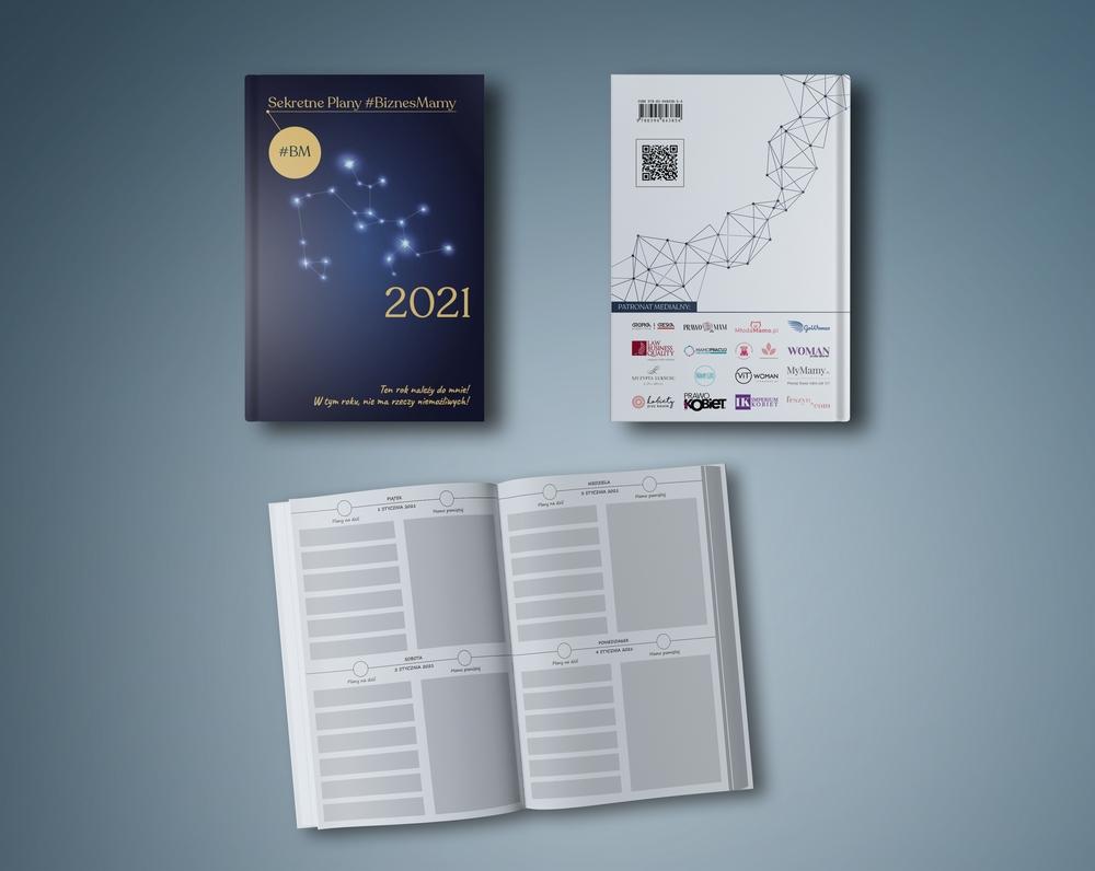 Kalendarz 2021 biznes mama (